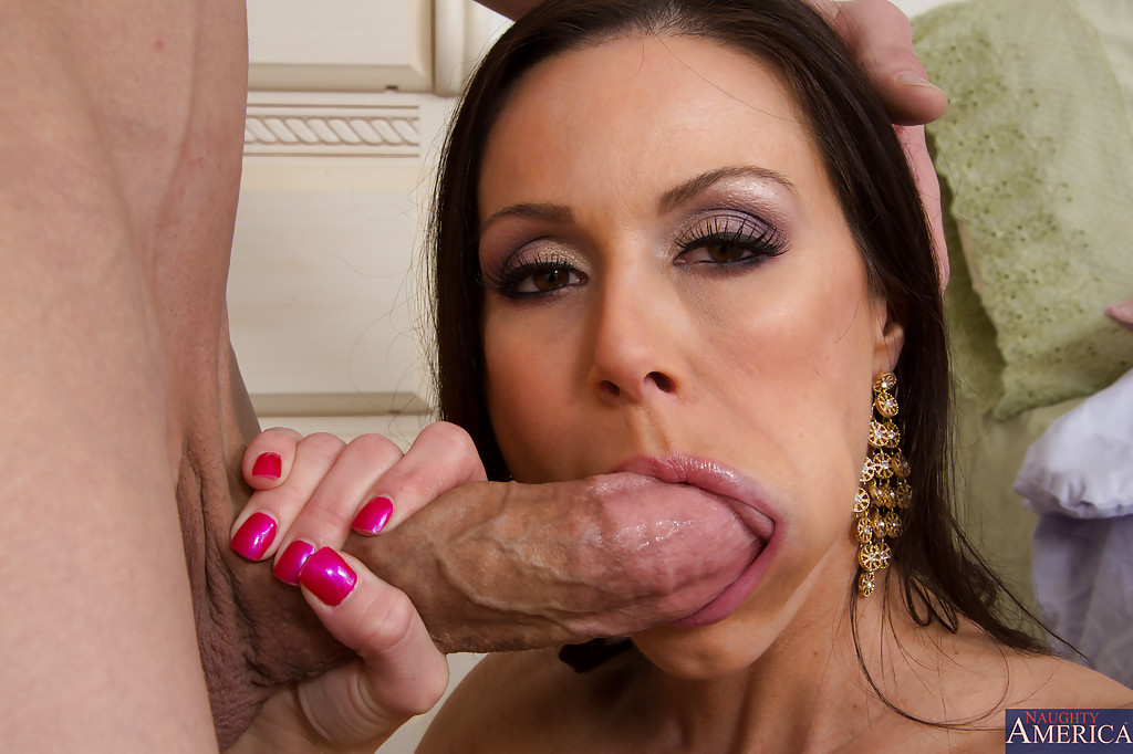 Ravishing Milf Blows And Fucks A Huge Boner For Cum On Her Face And Tits