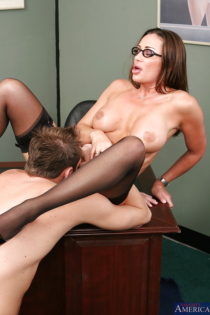 office sex stockings