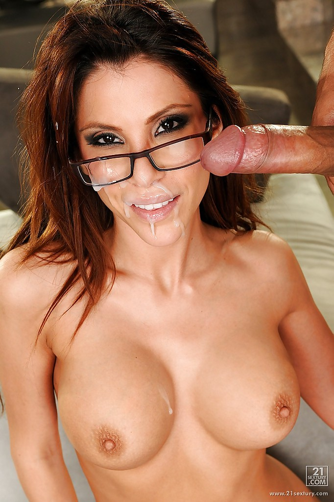 pornstar with glasses