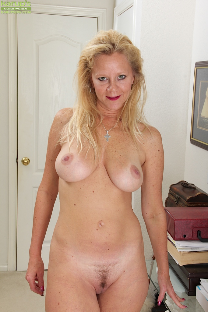Naked old women big tits