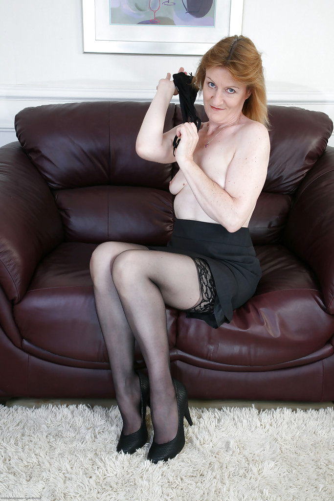 Mature women stockings