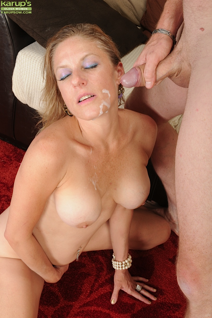 Can mature women getting cum think, that
