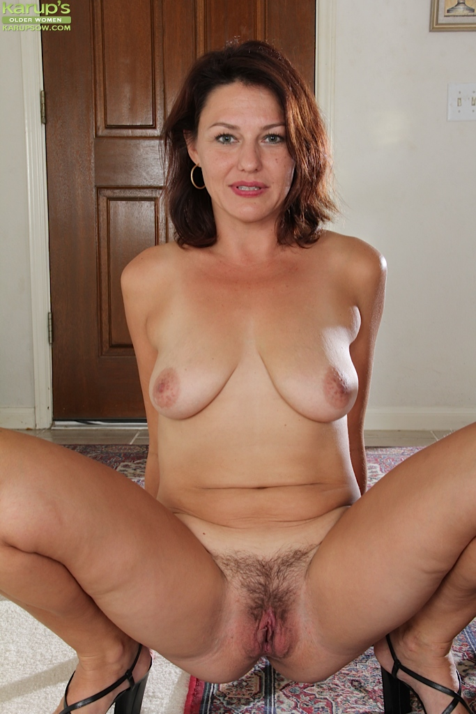 Milf shaved pussy close up the intelligible