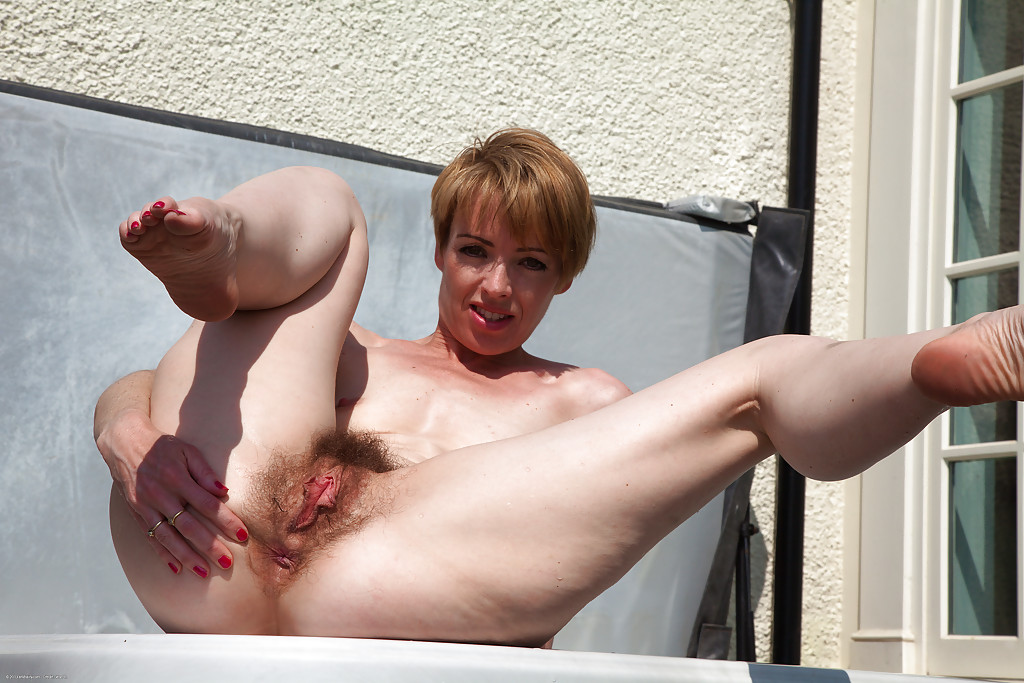 Consider, Mature hairy pussy by the pool