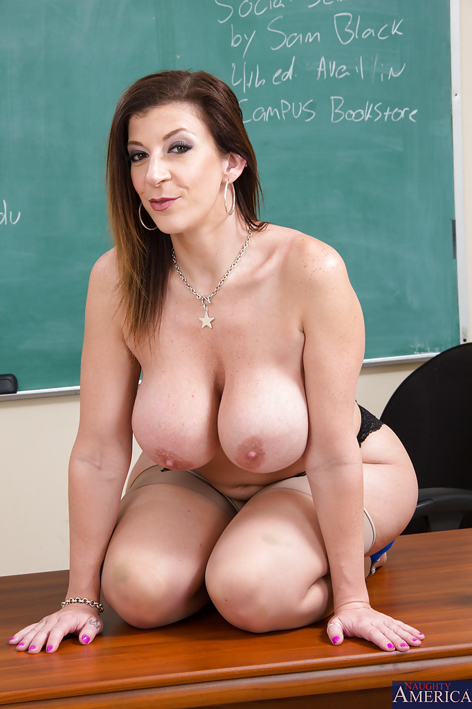 Hot naked girl teacher fucking student