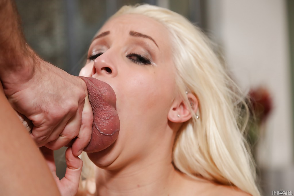 Blonde Deepthroat Porn Videos Pornhubcom