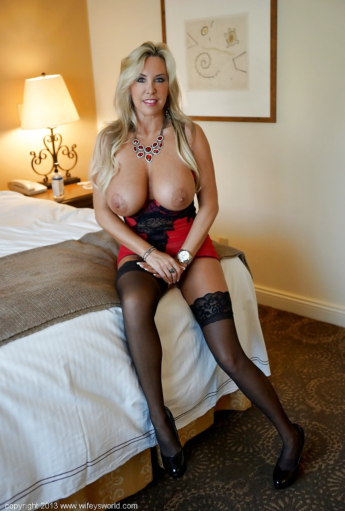 Hot milf stocking tits, ebay express spanx nude photos