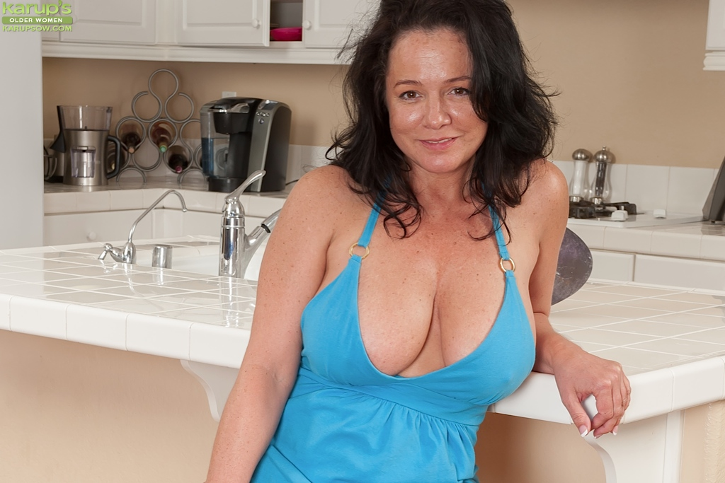 Mature Lady Undressing