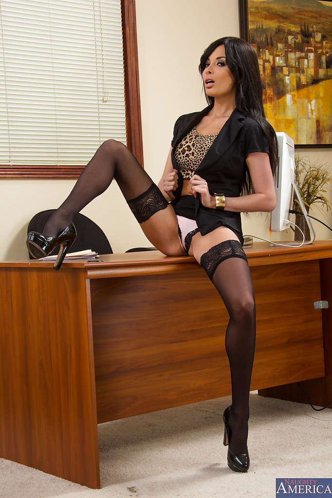 office naughty Anissa kate