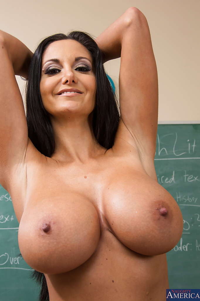 Teacher big boobs naked