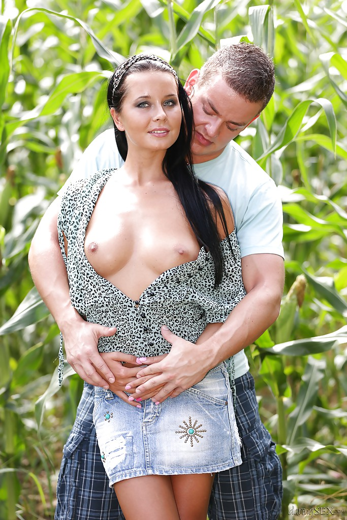 Coitus outdoors in positions