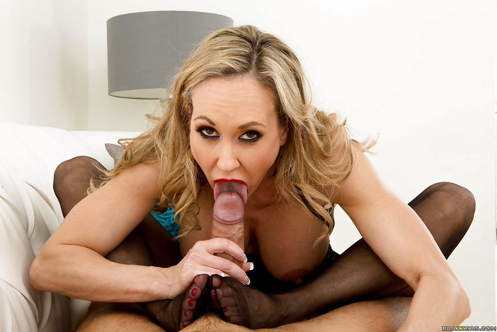 Gorgeous Blonde Milf Blowjob