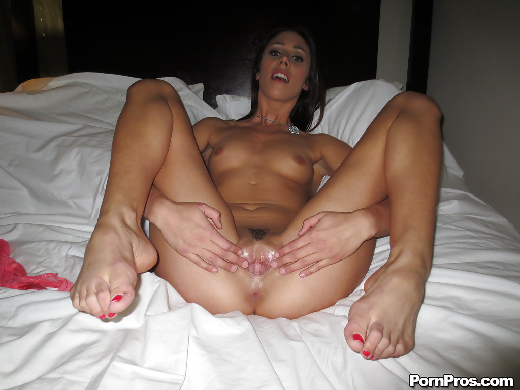 Was Brunette shaved pussy spread are not