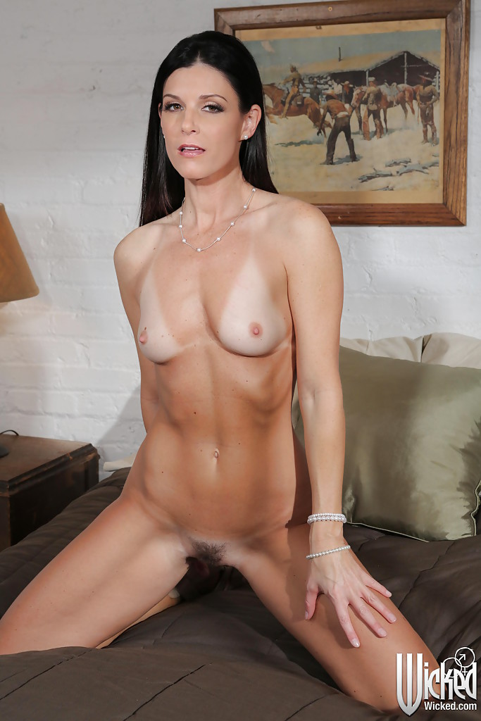 Pretty brunette india summer gets it on 9