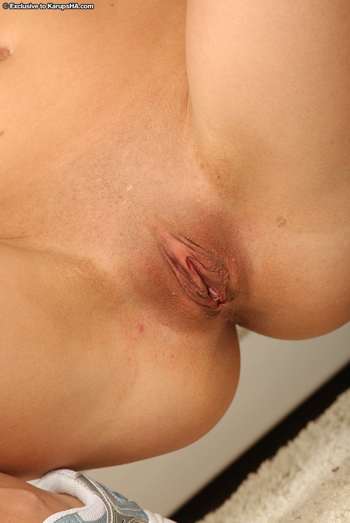 Ass hole pussy shaved excellent