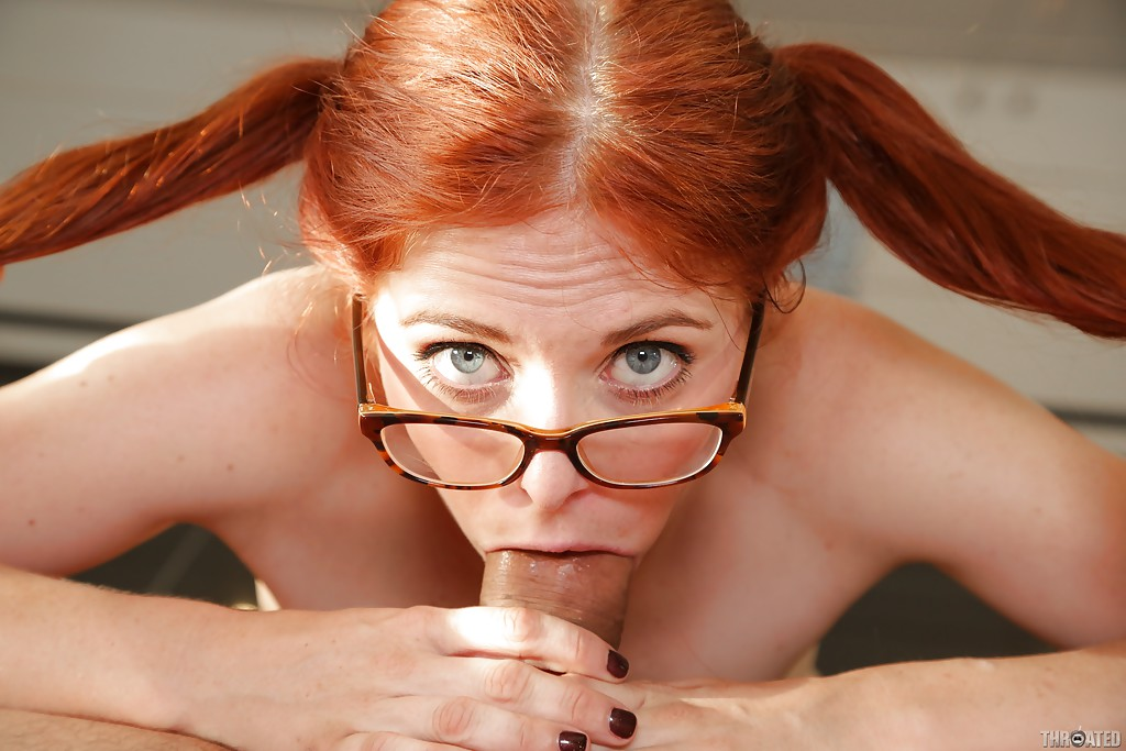 Red head glasses sex consider