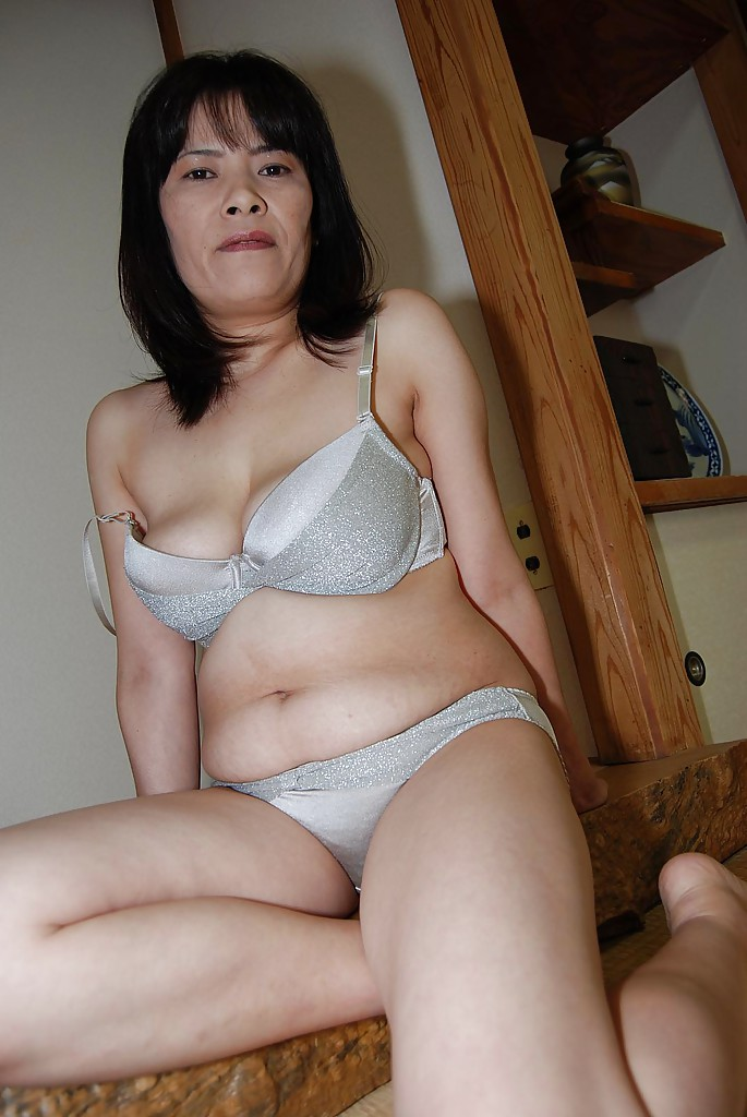 Mature hairy asian