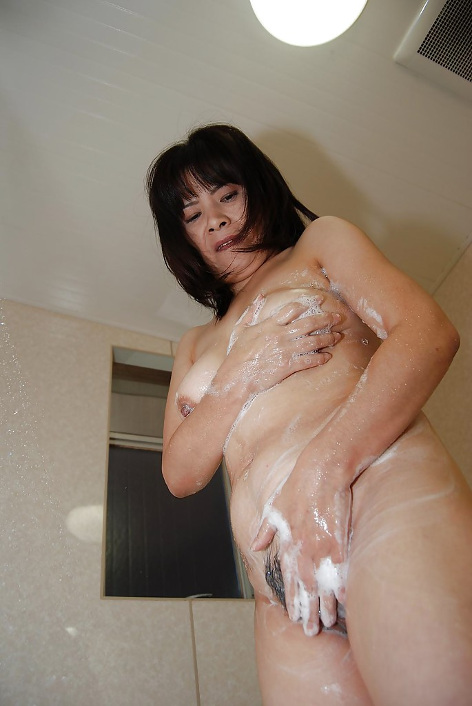 Nasty asian milf