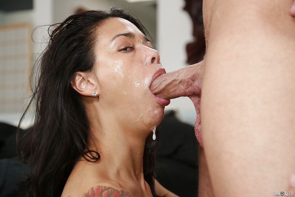 Dripping wet blowjob