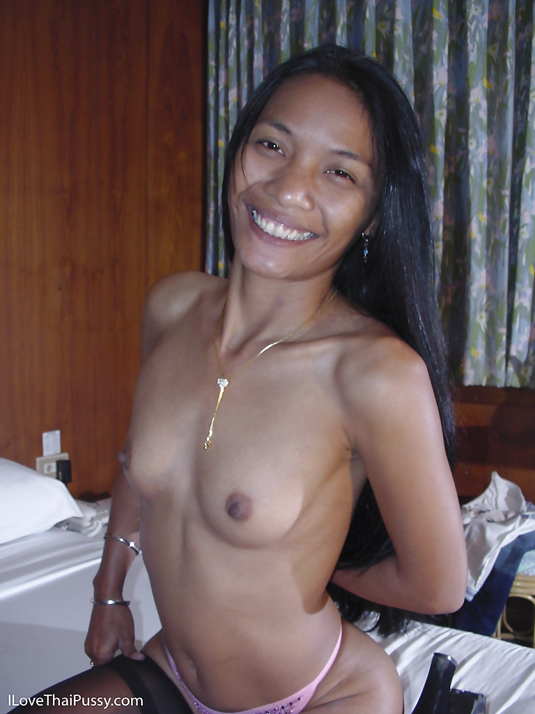asian whore with tiny titties one undressing her skinny body