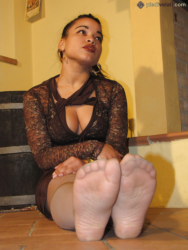 Footjob by gorgeous babes