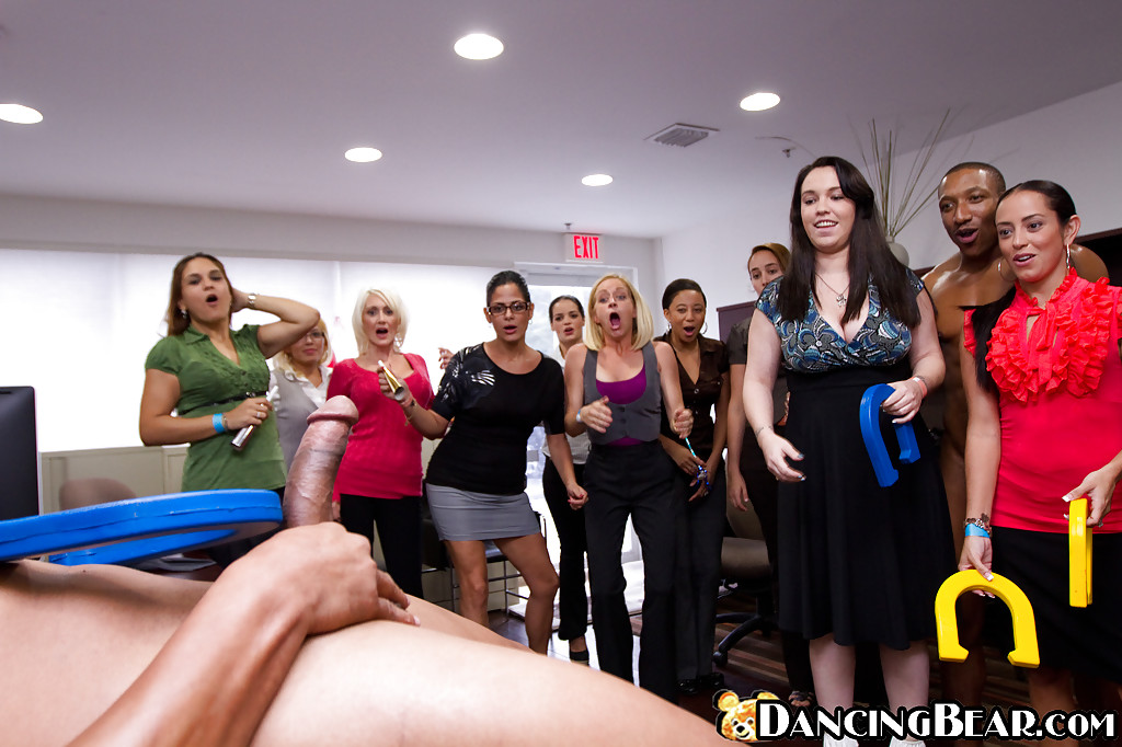 Nude Office Party 56