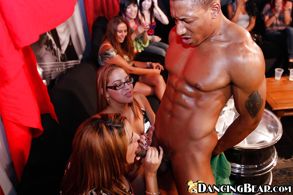Think, interracial black male strippers precisely