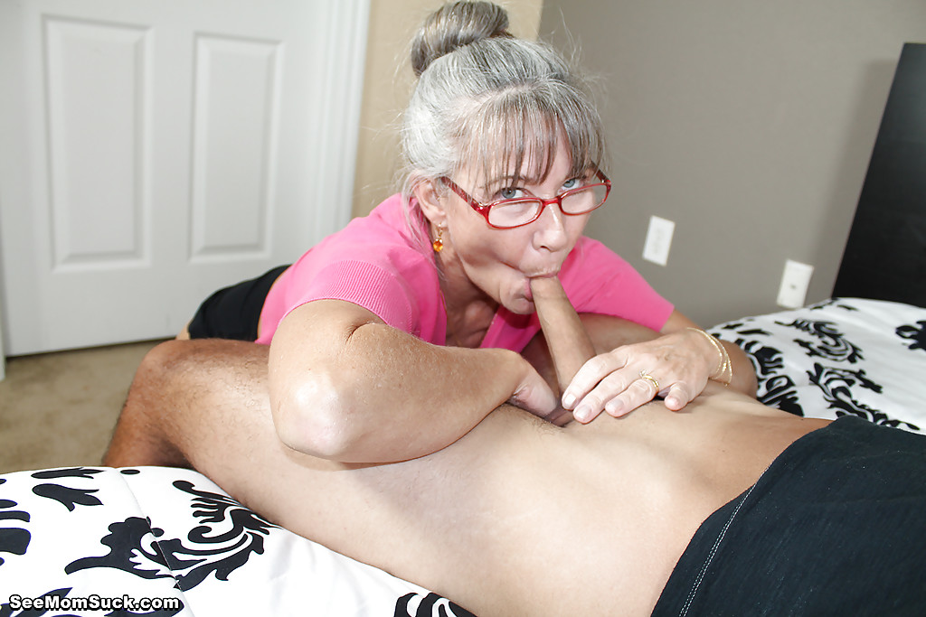 Mature Suck Swallow Cum