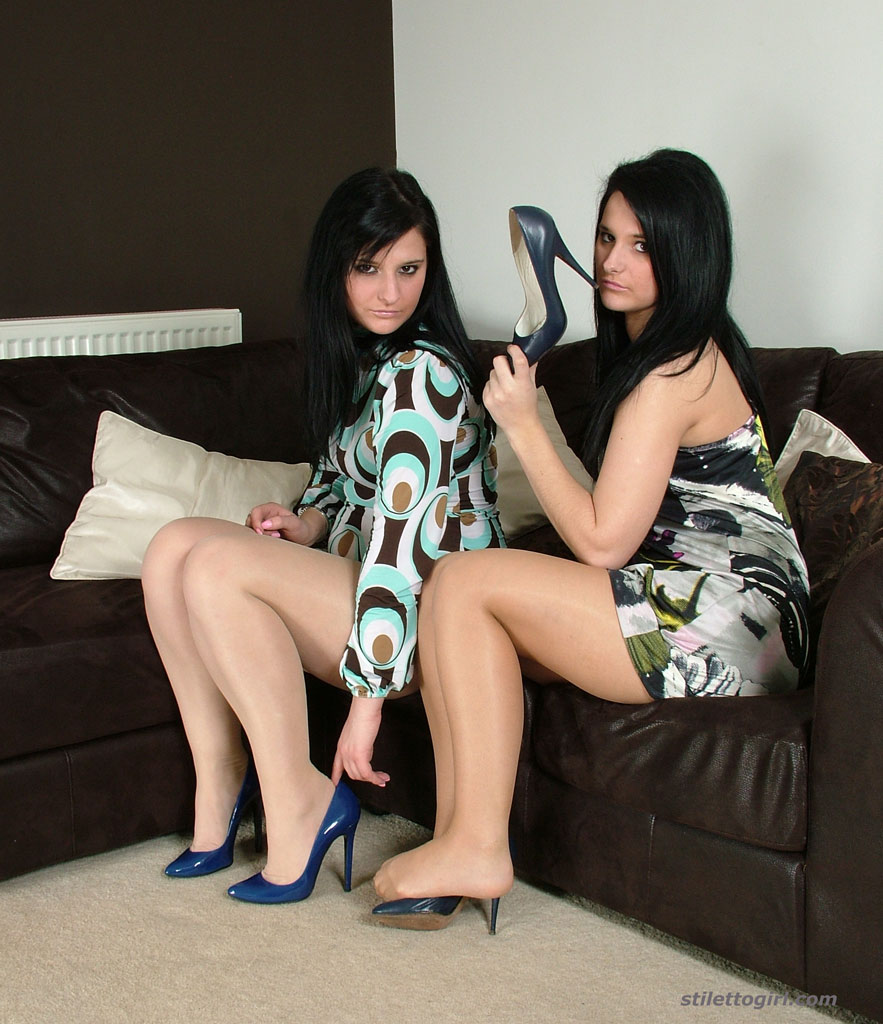Marvelous lesbians Nicola and Elise having some non nude part