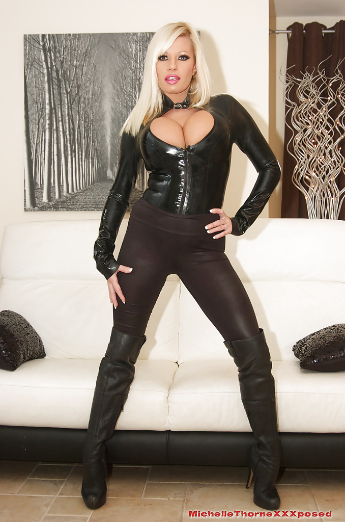 leather Michelle thorne
