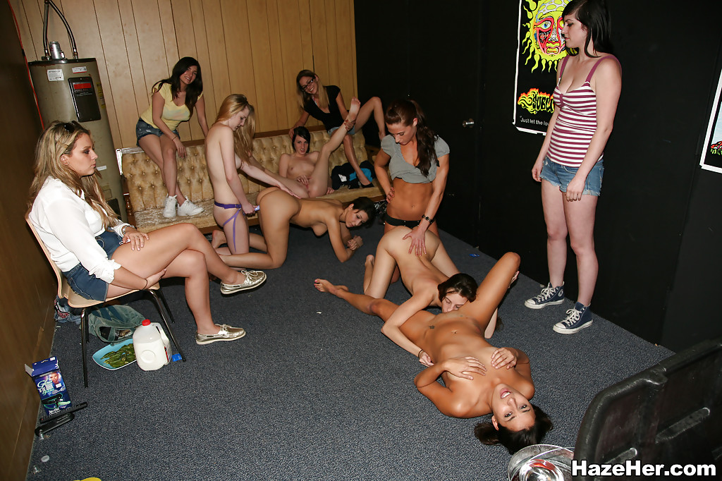 Lesbian orgy feat all star euro cast