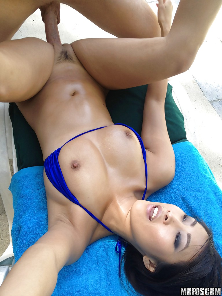 Outdoor asian sex