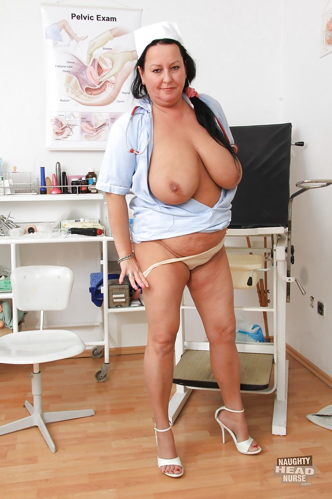 Mature nurse big boobs