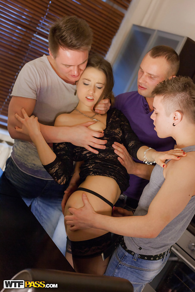 Young threesome sex daughter — 12