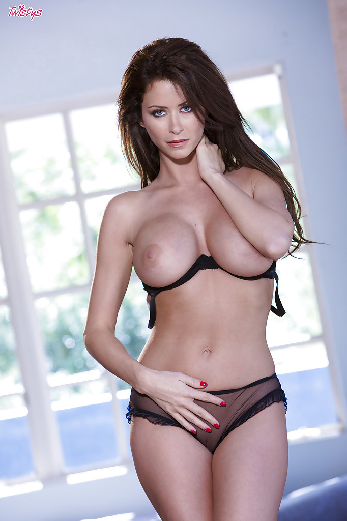 Opinion brunette big tits lingerie can