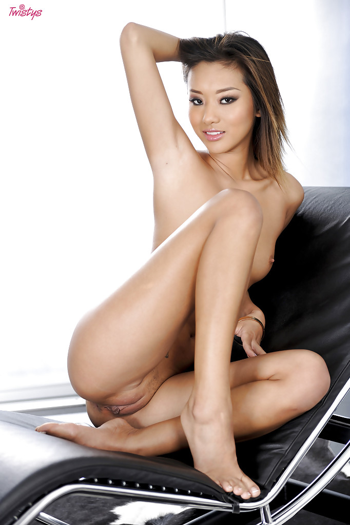 asian legs spead naked