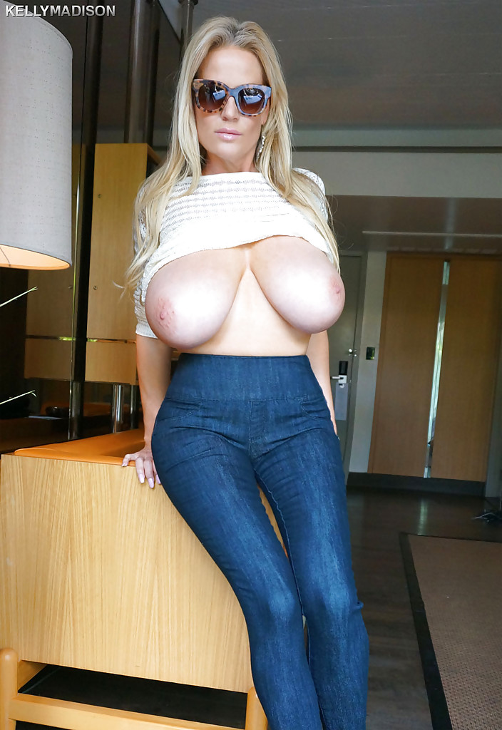 Big tits tight jeans