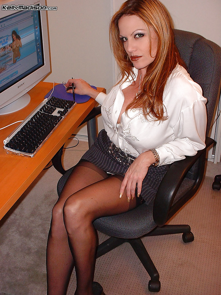 Office milf blowjob