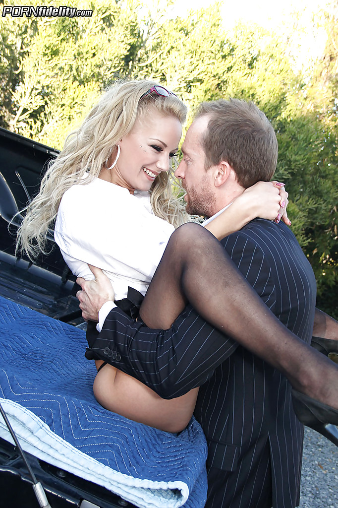 Lou Lou Porn Fidelity - ... Milf cowgirl Lou Lou has her pussy pounded in a sexy stockings ...