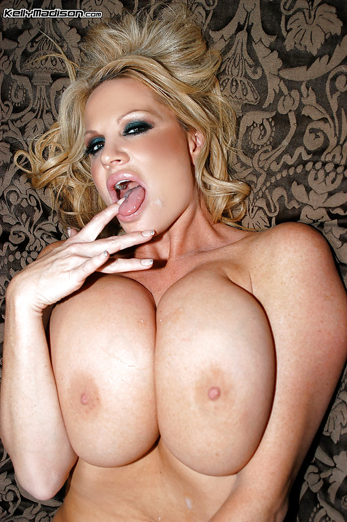 Kelly madison cum on tits