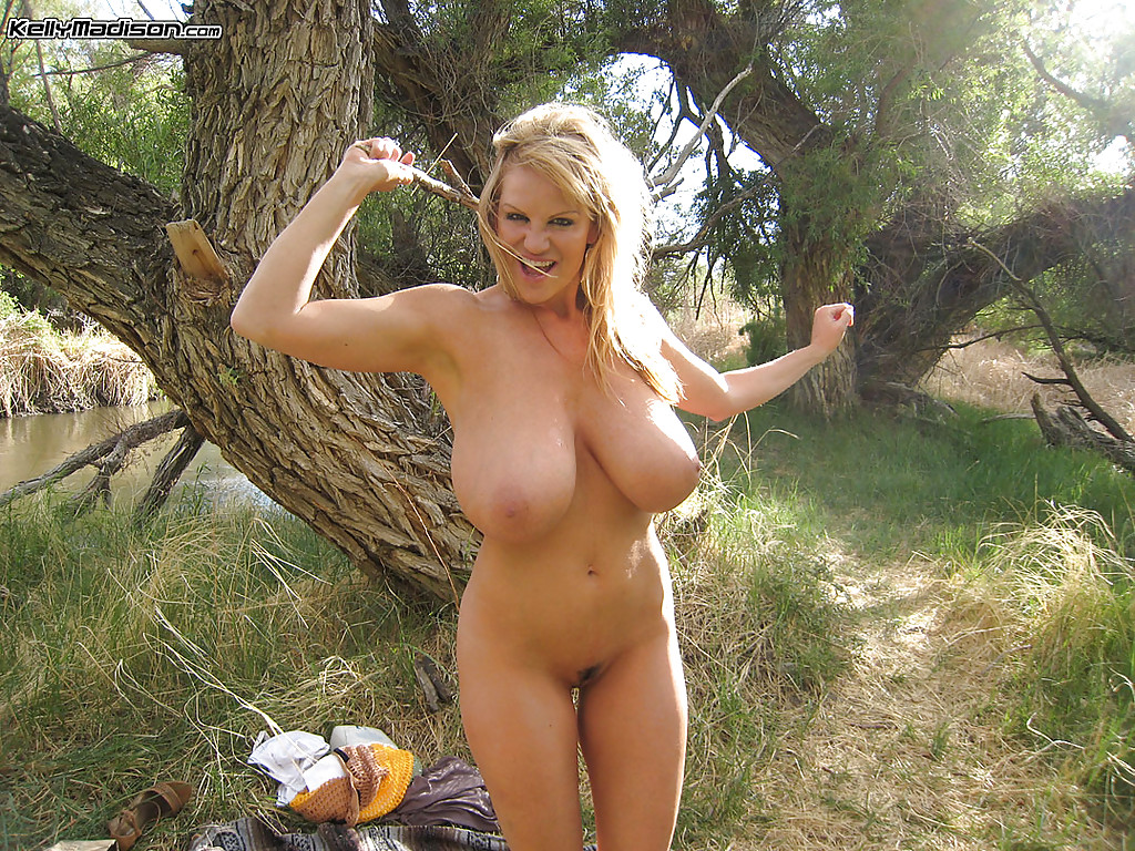 Redhead uncut outdoor beauty