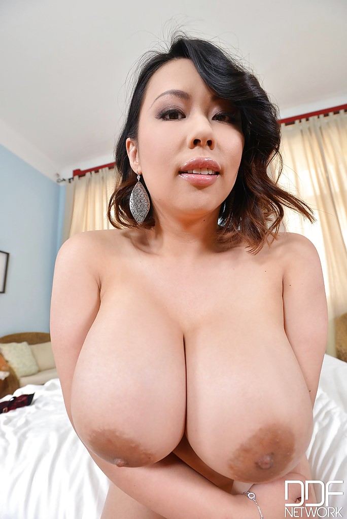 Huge tits asian milf