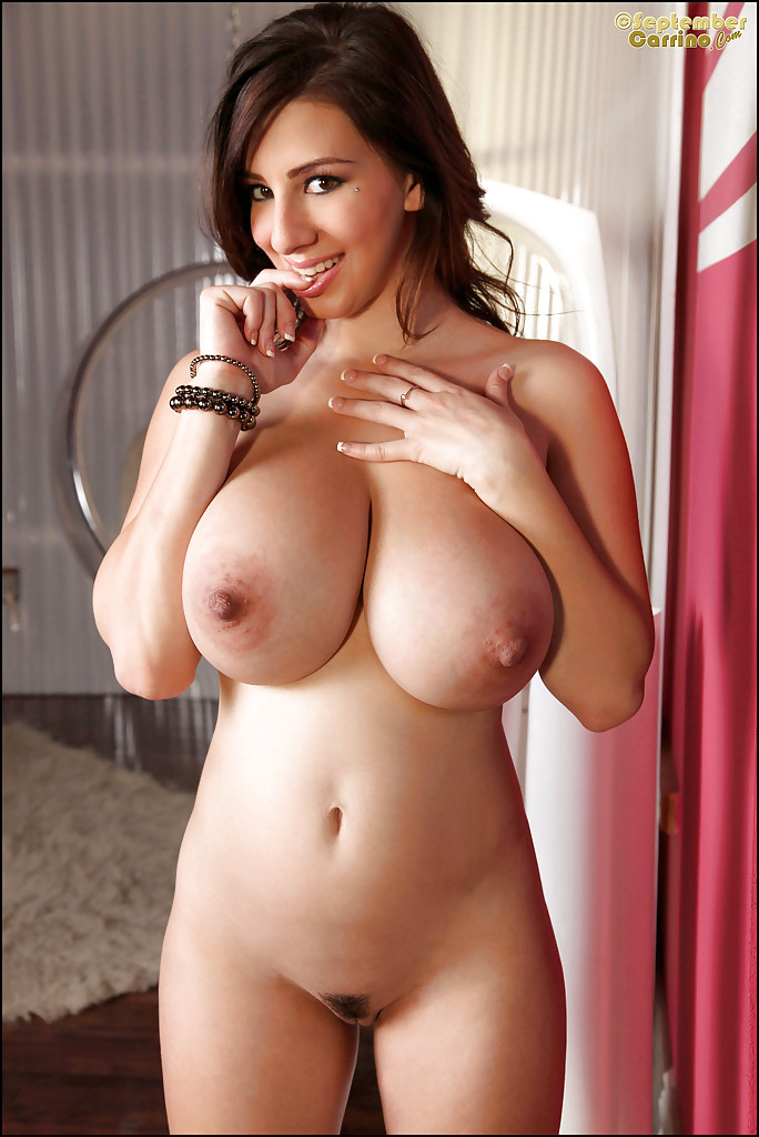 Sexy girl and big boobs