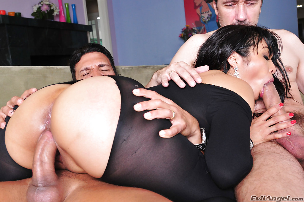 Mika tan threesome