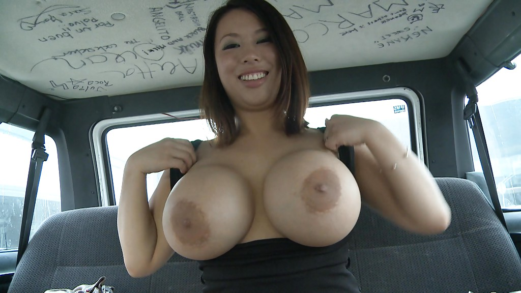 Asian big milf tit