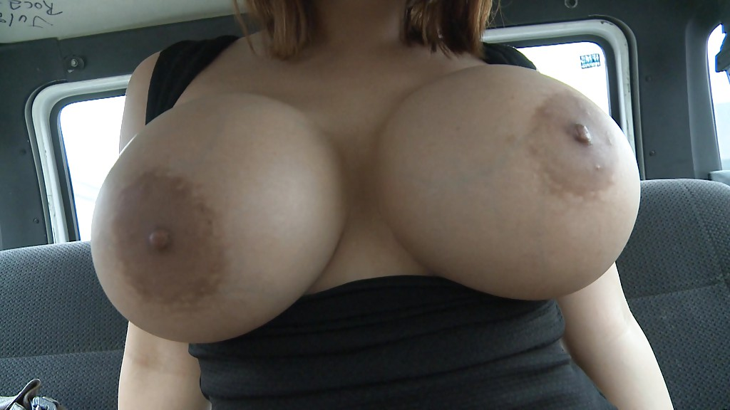 Close up of big tits