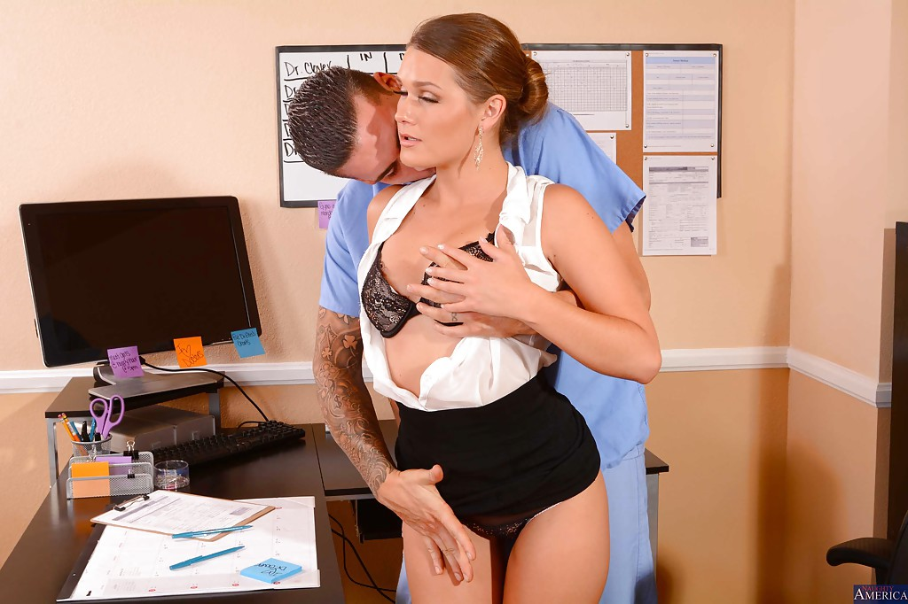 hard gruop sex in office