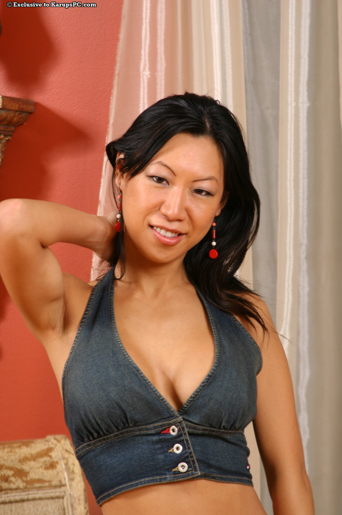 Homemade asian milf tits