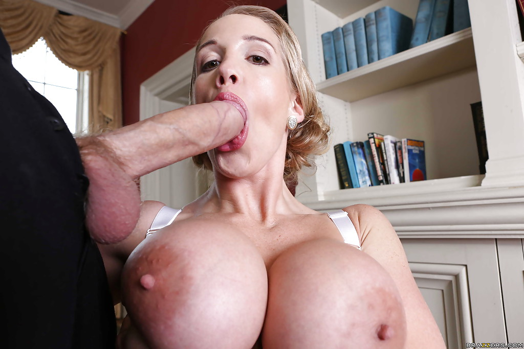 Big cock penetrates tight milf cunts of Loulou and Rebecca Moore