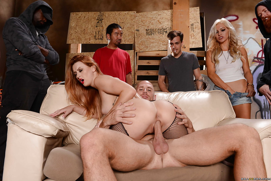Group sex men wife